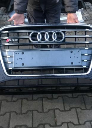 Бампер передний Audi Q5 SQ5 8R рестайлинг