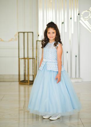 Платье детское нарядное на выпускной