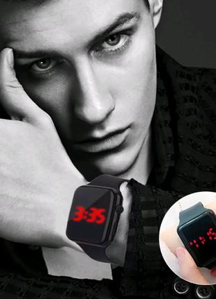 Чоловічий світлодіодний електронний годинник