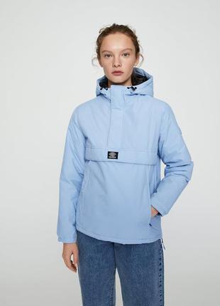 Куртка pull&bear / анорак женский / анорак pull&bear