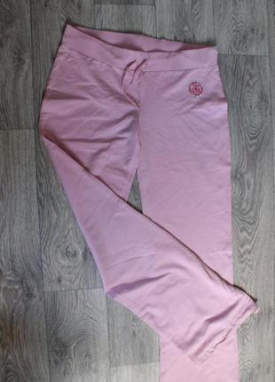 Трикотажные хлопковые брюки, повседневные штаны