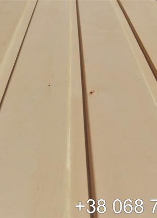 Вагонка липа сорт А 70х15х2500 мм от ПРОИЗВОДИТЕЛЯ