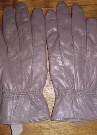Женские кожаные перчатки faux
