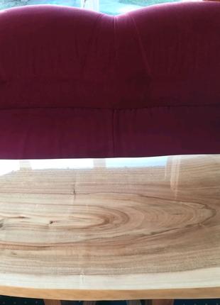 Столешница из массива дерева ОРЕХ