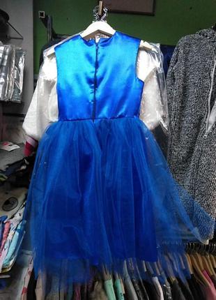 Платье нарядное на 7-9 лет