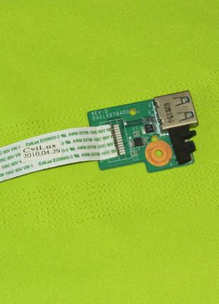 Плата USB HP Pavilion DV6-3000 series DA0LX6TB4D0 36LX6UB0000