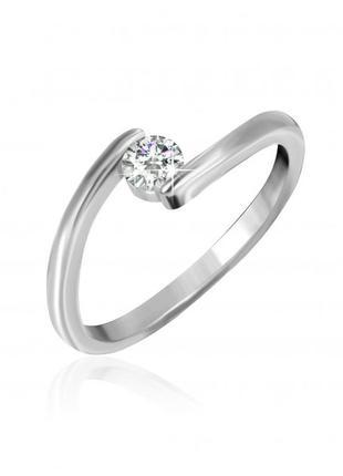 Серебряное кольцо с камнем 925 проба