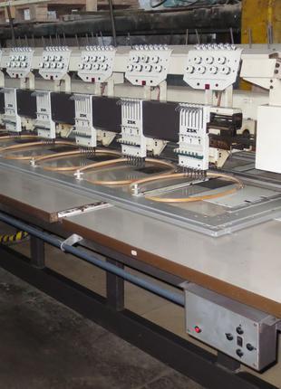 Вышивальная машина ZSK 12 голов 7 цветов