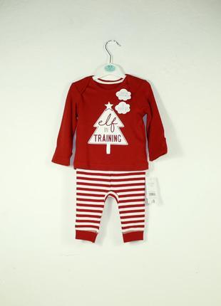George костюмчик новогодний на новорожденного 0-3мес