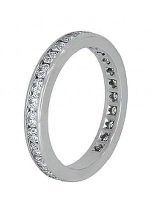 Серебряное кольцо 925 проба с камнями