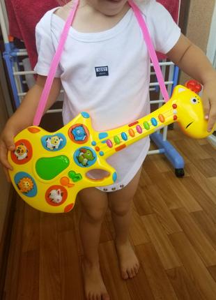 Гітара музична дитяча