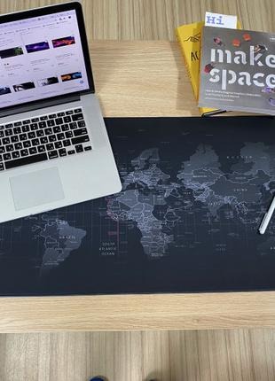 Игровой коврик для мыши карта мира