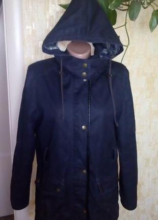 Парка с отстегивающимся капюшоном/пуховик/куртка/пальто/плащ