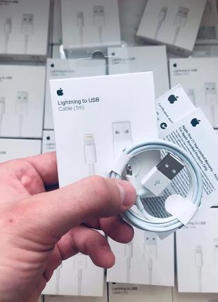 Oригинальный кабель лайтнинг шнур зарядка на для айфон iphone 5 6
