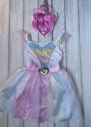 Платье пони единорог 2-3 года