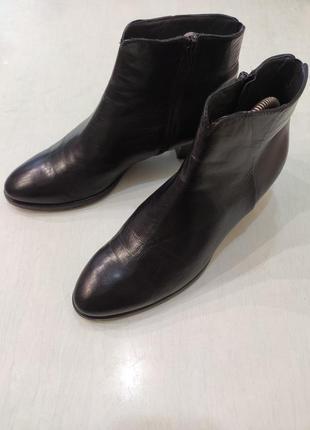 Maripe. италия! демисезонные кожаные ботинки, ботильоны