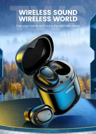 Ugreen TWS True Wireless Stereo наушники WS102 Bluetooth 5.0