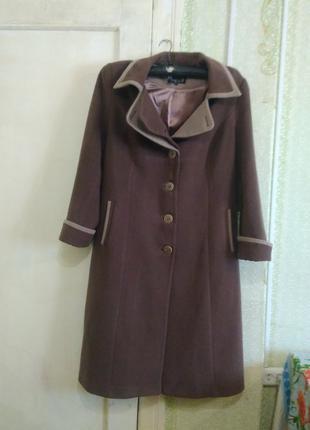 Продам женское осеннее пальто 52-54 размера