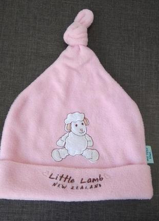 Классная шапка для девочки 12-18 м