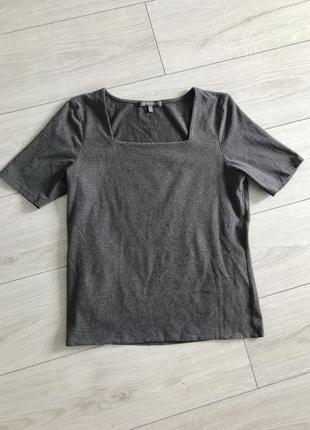 Серая футболка, теплая футболка, laura ashley.
