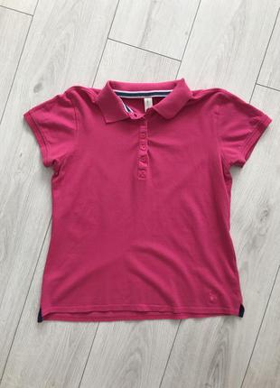 Футболка, розовая футболка, розовое поло.