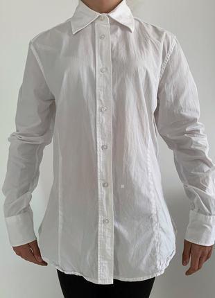 Крутая белая рубашка, базовая рубашка женская.