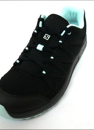 Salomon blackstonia женские черные кроссовки оригинал сетка