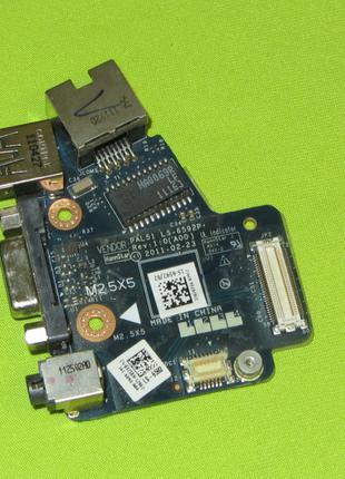 Плата USB + Audio + VGA + LAN Dell E6420 PAL51 LS-6592P CN-03258H