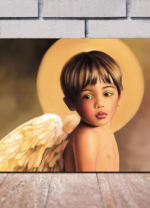 Картины Ангелы живопись на холсте Дети ангелочки живопись, искусс