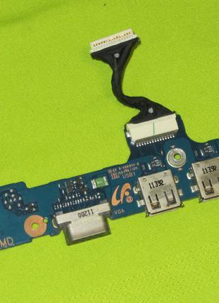 Плата USB + VGA Samsung 305U NP305U1 BA92-08665A