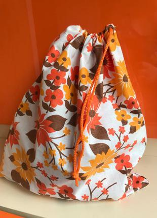 Мешок из хлопка мешочек для хранения эко торба торбинка еко мішок