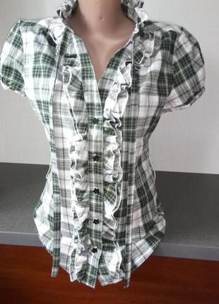 Рубашка 👚 с коротким рукавом athmosphere