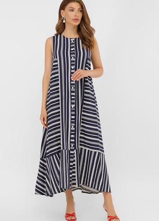 Платье летнее длинное хлопок