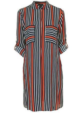 Платье- рубашка для беременных вискоза topshop maternity p l