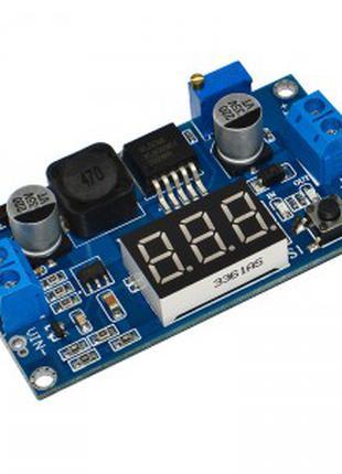 Модуль XL6009-LED регулируемый повышающий преобразователь