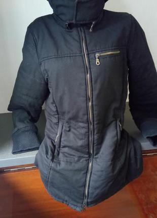Куртка с капюшоном jennyfer