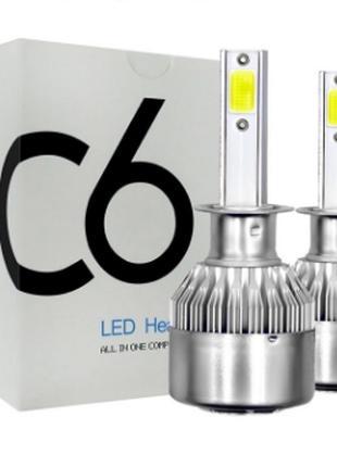 Светодиодные автомобильные лампы Лед Led h1/h3/h7/h4