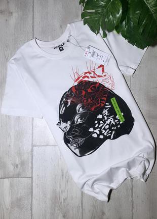 Новая мужская футболка с принтом