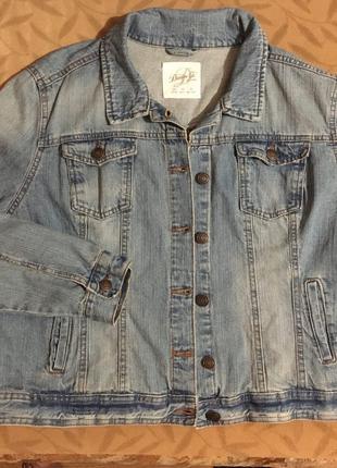 Куртка джинсовая мужская Denim размер 48