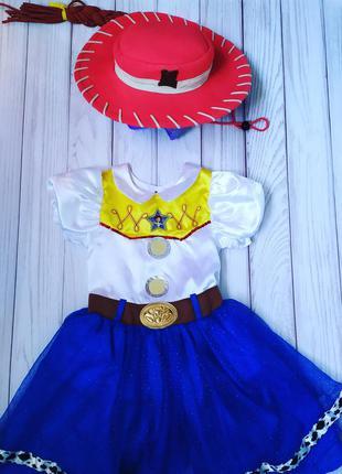 Платье ковбой шериф джесси, история игрушек 5-6 лет