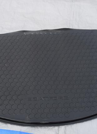 Резиновый пол накладка багажника на KIA Sportage 3 III 2010-
