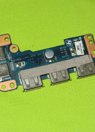 Плата USB Sony VAIO VPCEE PCG-61611L 3DNE7UB0000 DA0NE7TB6D0