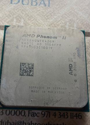 Процессор AMD Phenom II X4 840 3,2GHz sAM3  (HDX840WFK42GM)