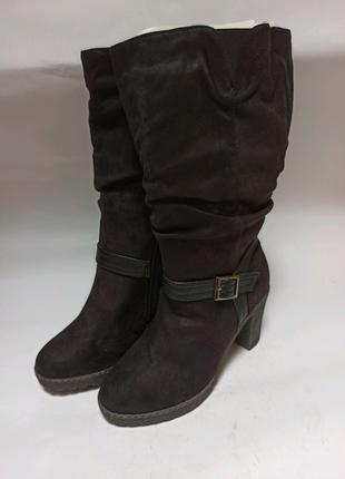 Полусапоги anna field. брендове взуття stock