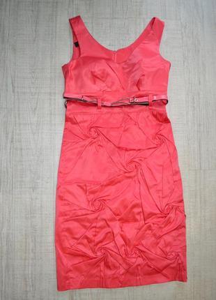 Розовое платье, сарафан
