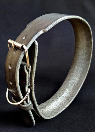 Кожаный ошейник для собак, на крупную или среднюю породу