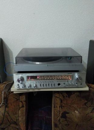Grundig Super Hifi Box 450 Professional +Grundig R 1000+Grundi...
