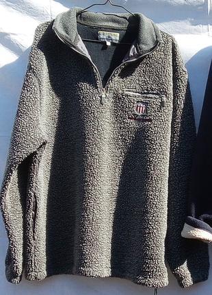 Мужская кофта на молнии / куртка / толстовка / размер 50-52