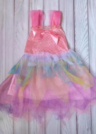 Нарядное платье 1-2 года