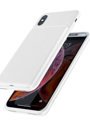 ЧЕХОЛ ЗАРЯДКА для iPhone X/Xs Max чехол батарея аккумулятор Айфон